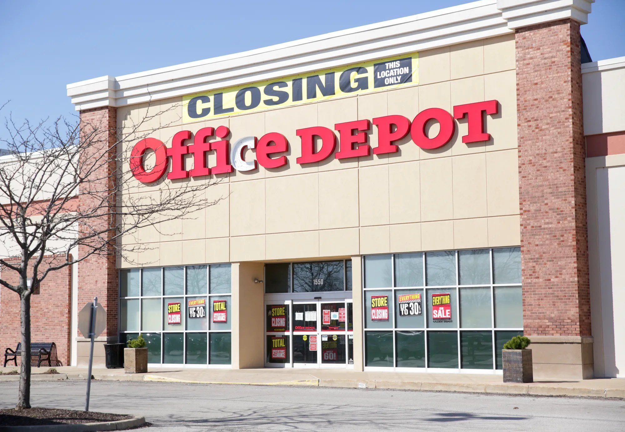 Lafayette's only Office Depot location to close in May. retailer says