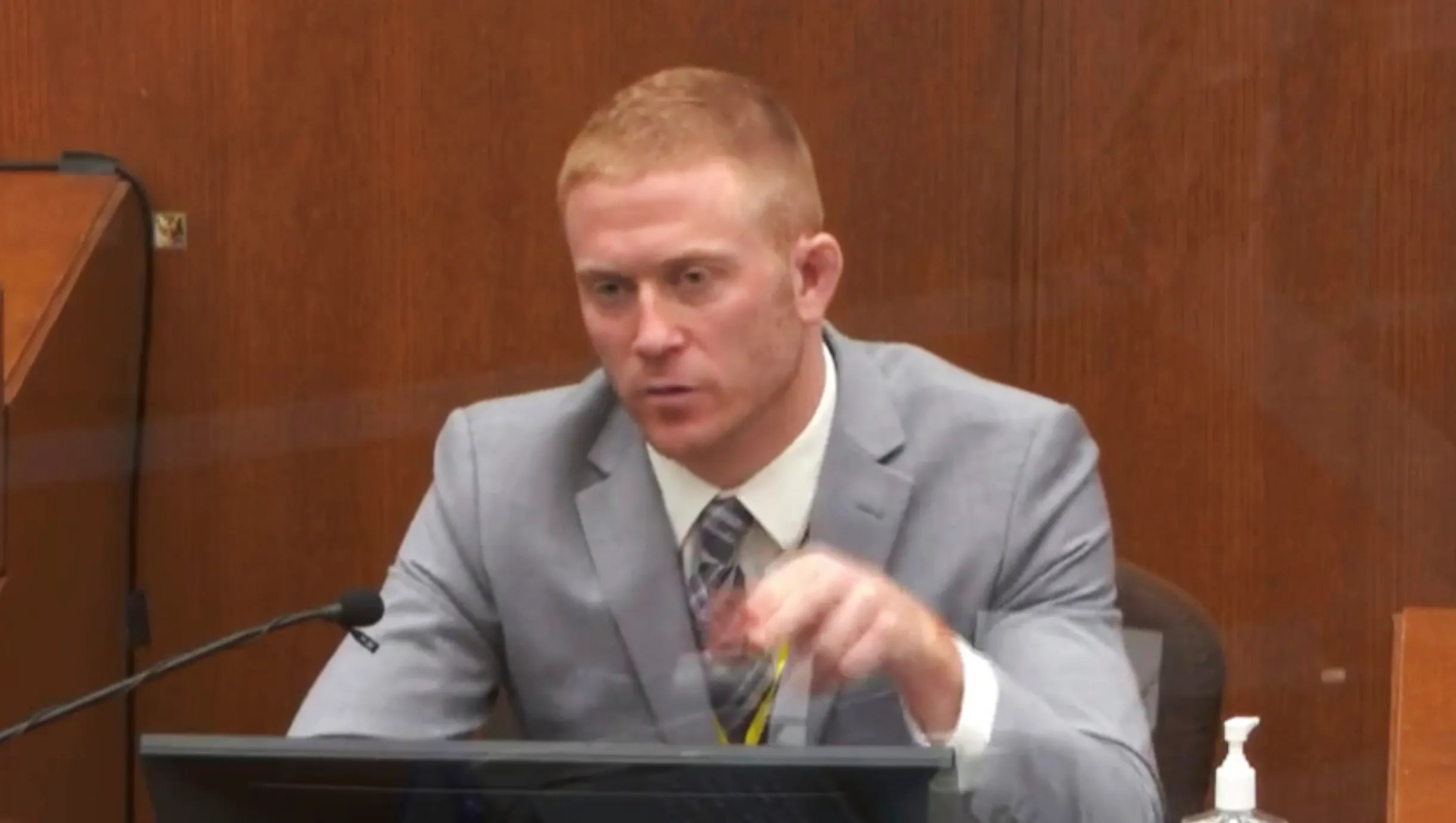 Derek Smith, a paramedic with Hennepin County EMS, testified Thursday.