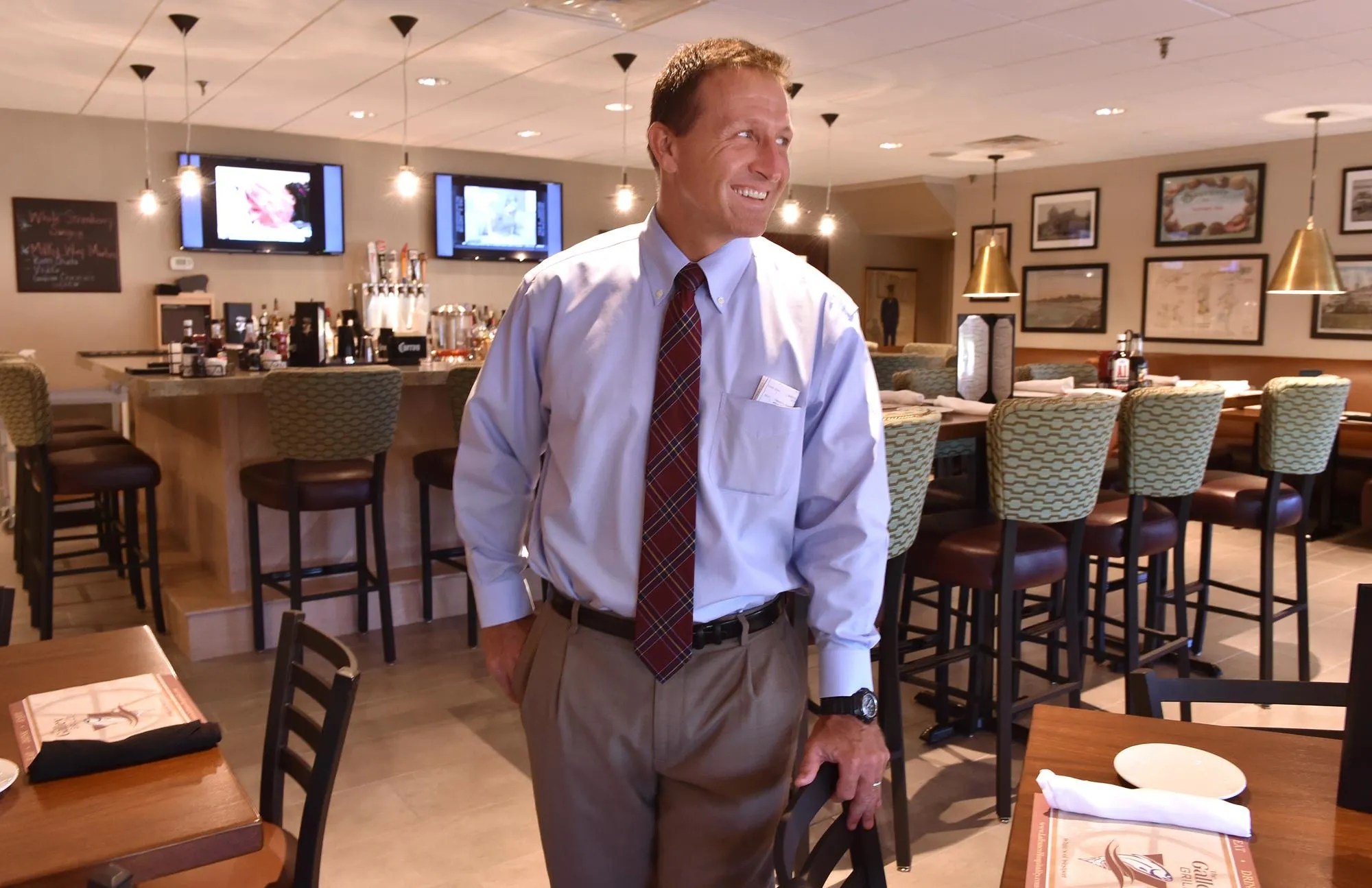 In this Herald News file photo, Charlie Fellows talks about the opening of The Galley Grille, a restaurant adjacent to White's of Westport.