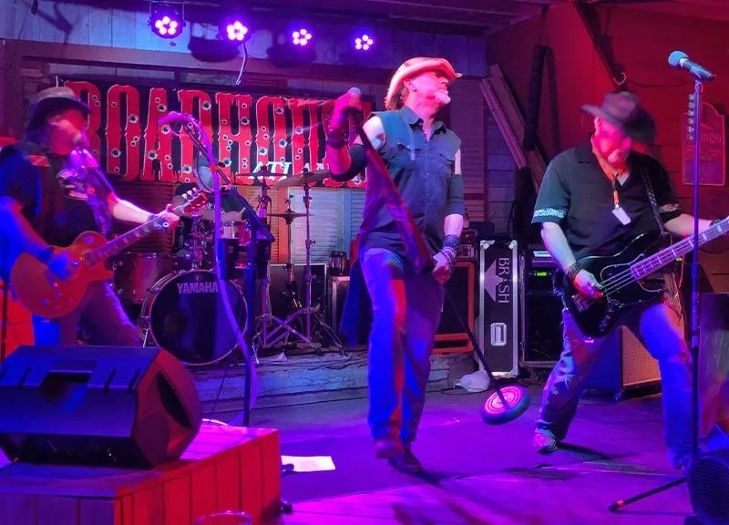Roadhouse ATL will play nightly at Sharky's Beach Club.