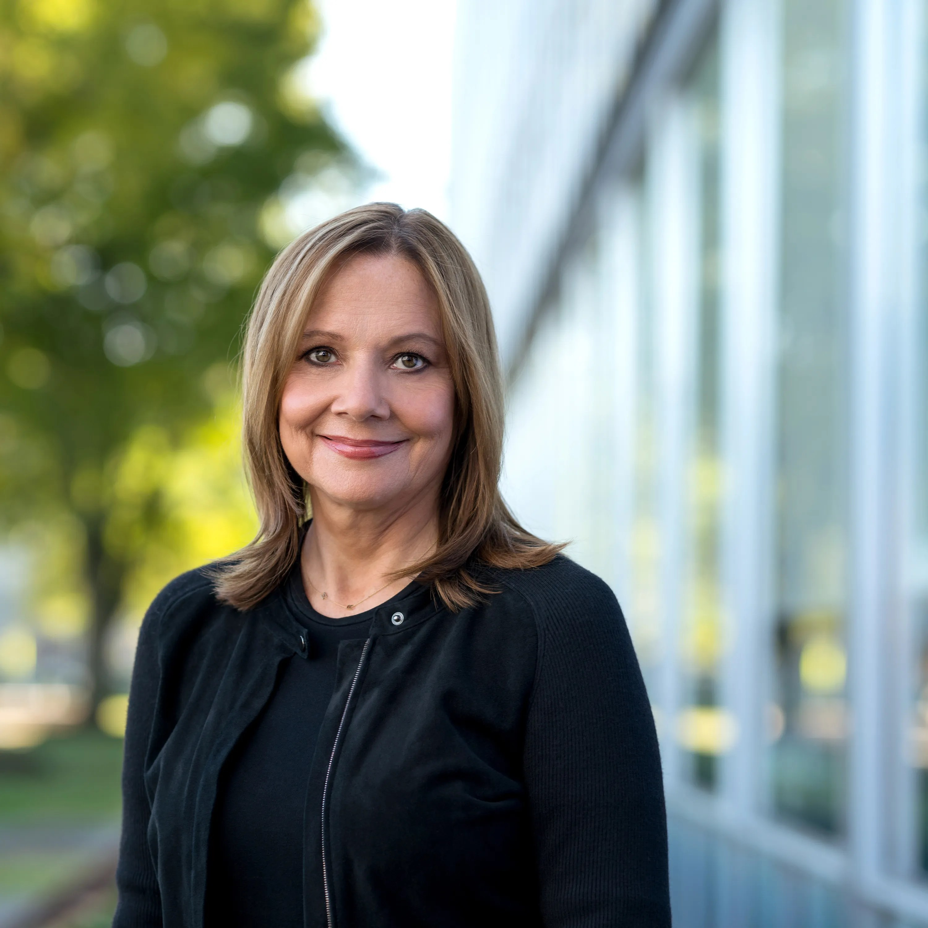 General Motors CEO Mary Barra in October at the Design Building on the GM Tech Center campus in Warren.