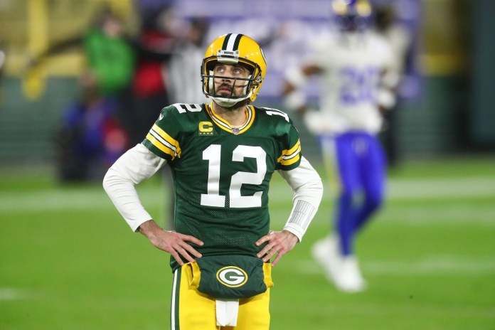 Aaron Rodgers is frustrated with the Packers.