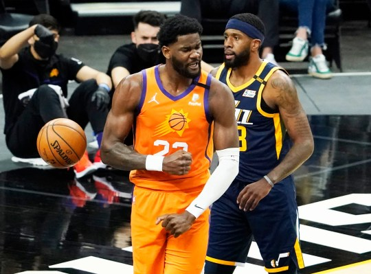 Deandre Ayton and the Phoenix Suns are on the rise on the court and in odds to win the 2021 NBA title.