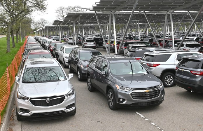 The Buick Enclave and Chevrolet Traverse are among the GM models affected by the latest plant downtime resulting from the global semiconductor shortage.