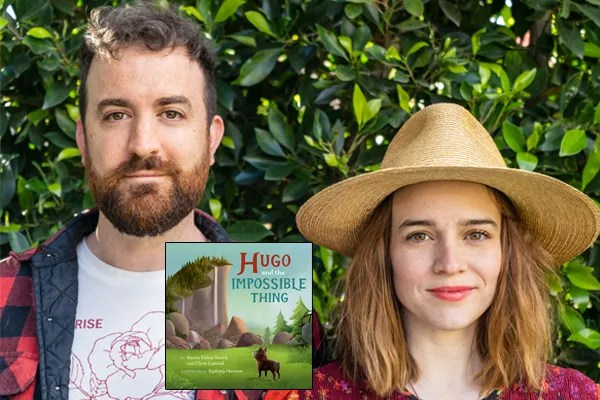 On Saturday, May 29, An Unlikely Story Bookstore & Cafe of Plainville will host a virtual story time featuring Renée Felice Smith in conversation with Chris Gabriel, live on Crowdcast.
