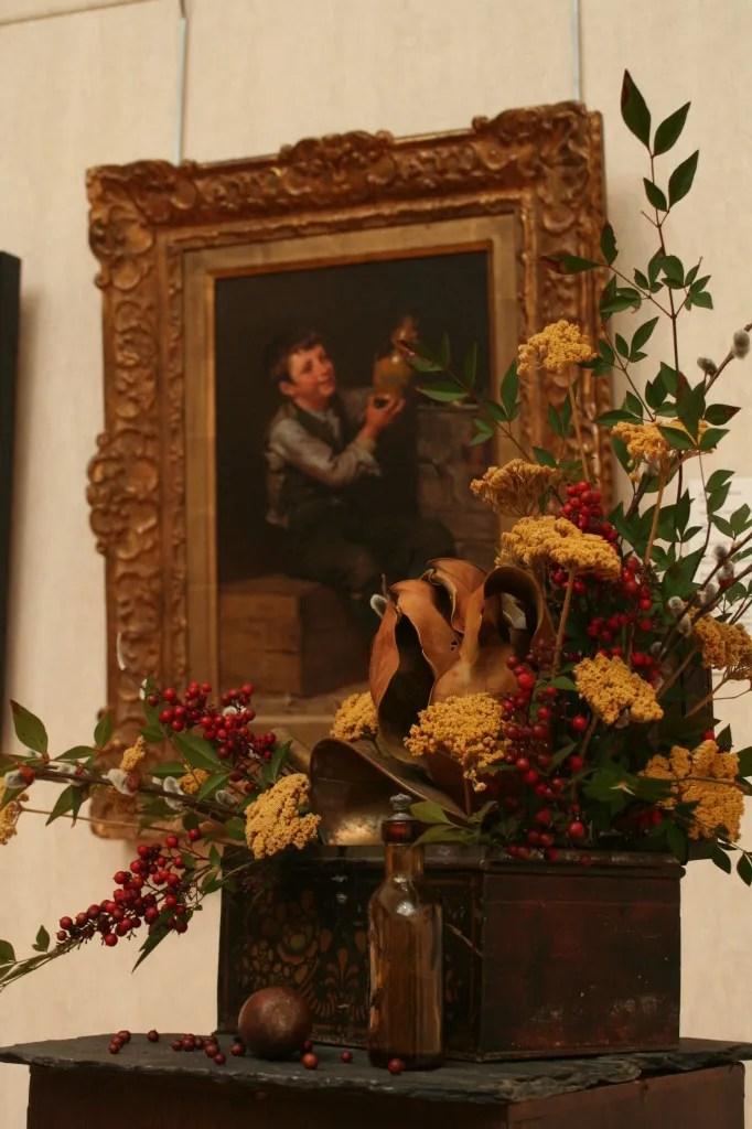 From 2011: John George Brown, The Dilettante. Interpreted by the Foxglove Garden Club: Betty Harmison, Velda Hoffman