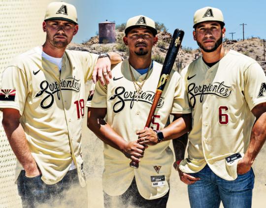 Do you like the Arizona Diamondbacks' 'Serpientes' uniform?