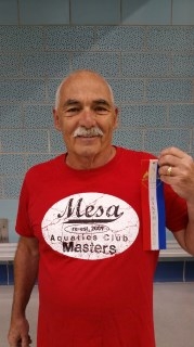 Swimmer Peter Eisenklam, who's 78, has earned a bunch of medals, but he doesn't want to talk about that. He wants people to stay active as they get older.