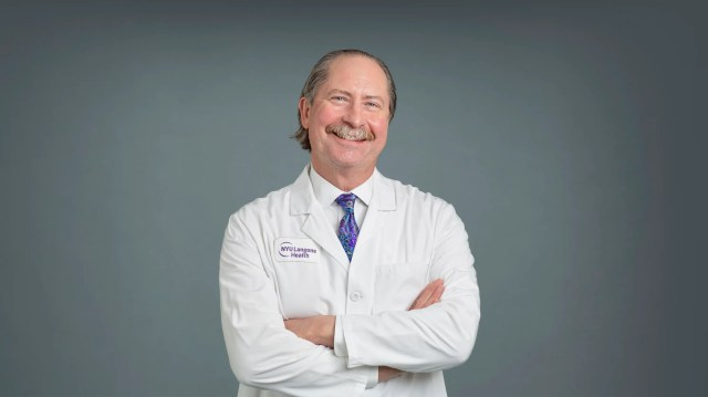 Dr. Robert Montgomery, who directs the Transplant Institute at NYU Langone Medical Center, is also a heart transplant recipient.