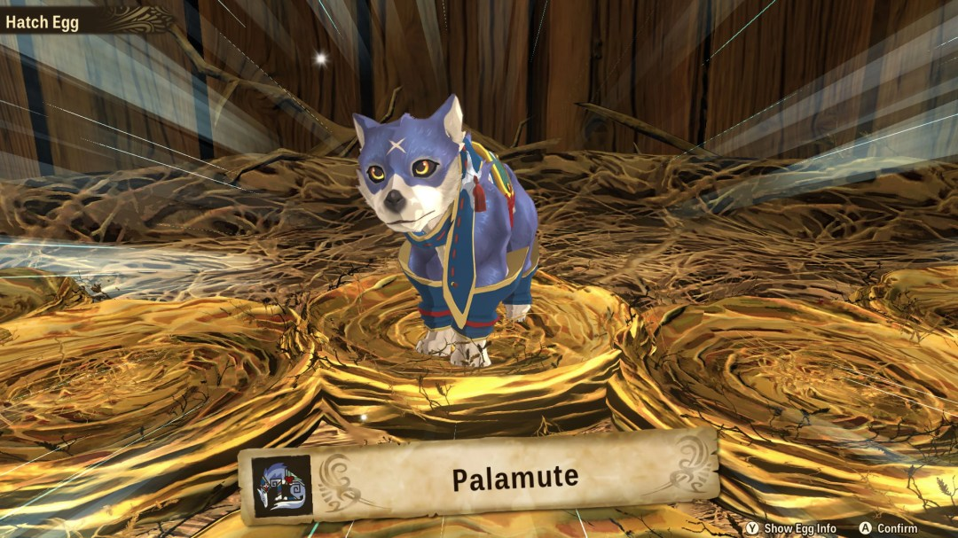 Monster Hunter Stories 2: Here's why Palamute hatches with clothes on