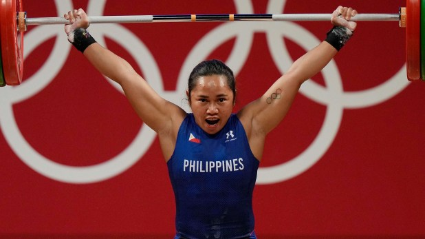Philippines weightlifter Diaz wins Tokyo Olympic gold medal, 2 houses