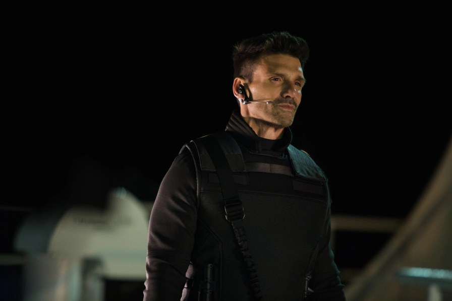 """Frank Grillo made his Marvel debut as the bad SHIELD agent Brock Rumlow in """"Captain America: The Winter Soldier."""""""