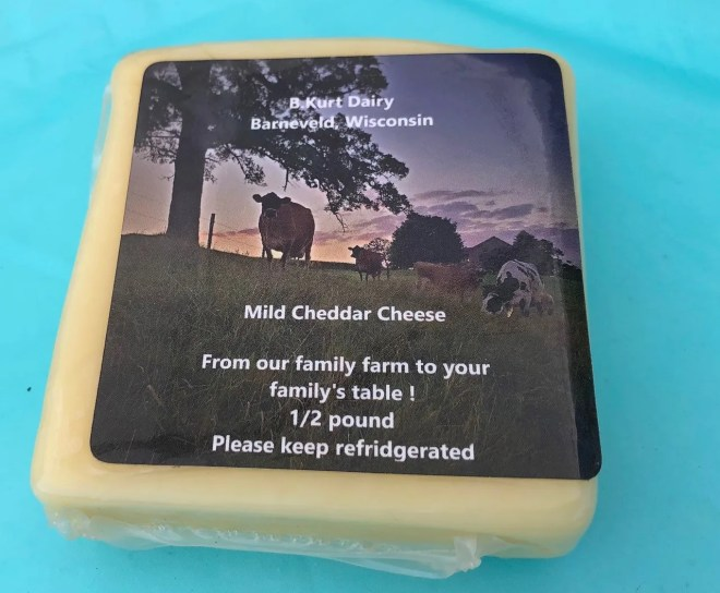 A portion of the farm's milk is made into cheddar cheese at Cedar Grove Factory in Plain. Order by emailing bryannahandel@yahoo.com.