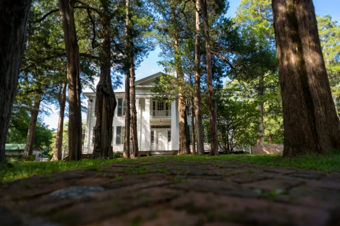 Rowan Oak, a destination for writers and fans of William Faulkner, is located in Oxford, Miss.,  just north of the city's historic town square.