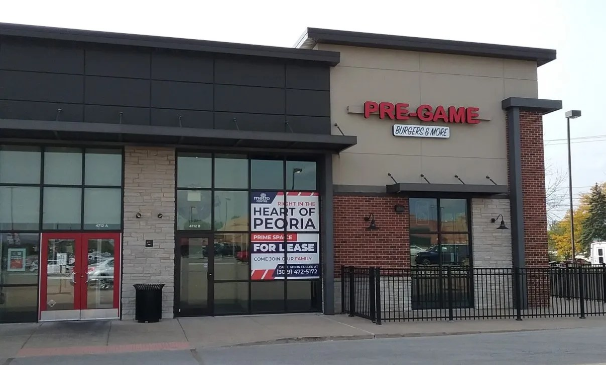 The former site of Pre-Game Pub & Grill at the Metro Centre shopping plaza in Peoria is to become an outlet of Dog Haus, a gourmet hot dog chain.