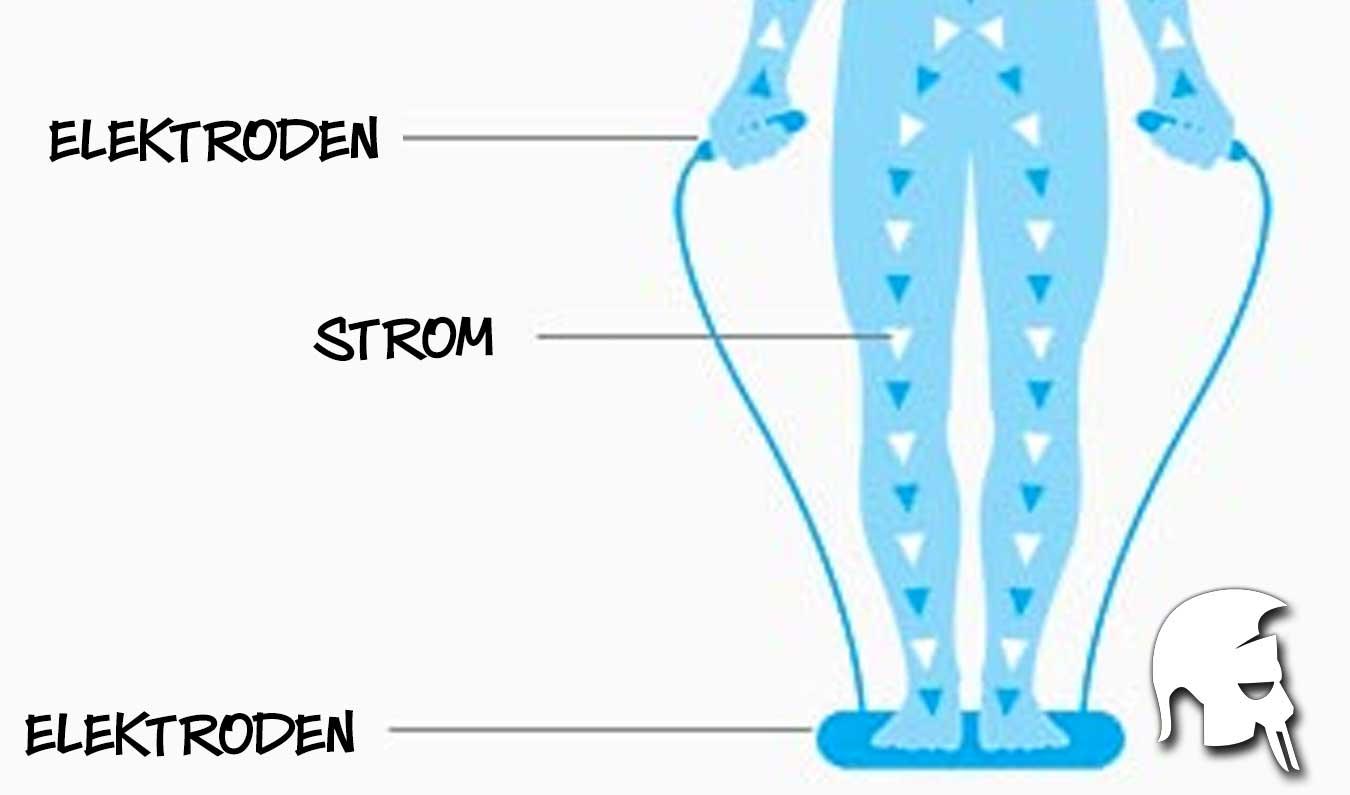 Körperfettwaagen Bioelektrische Impedanzanalyse