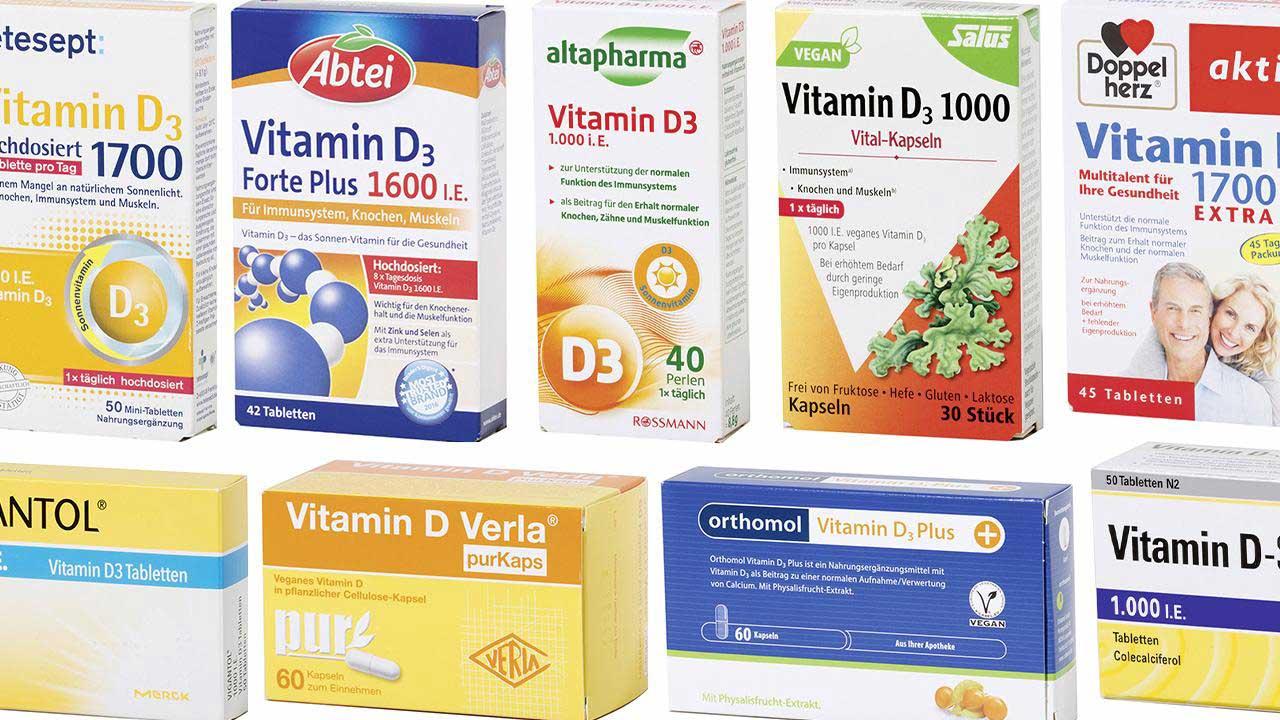 Öko-Test Vitamin D