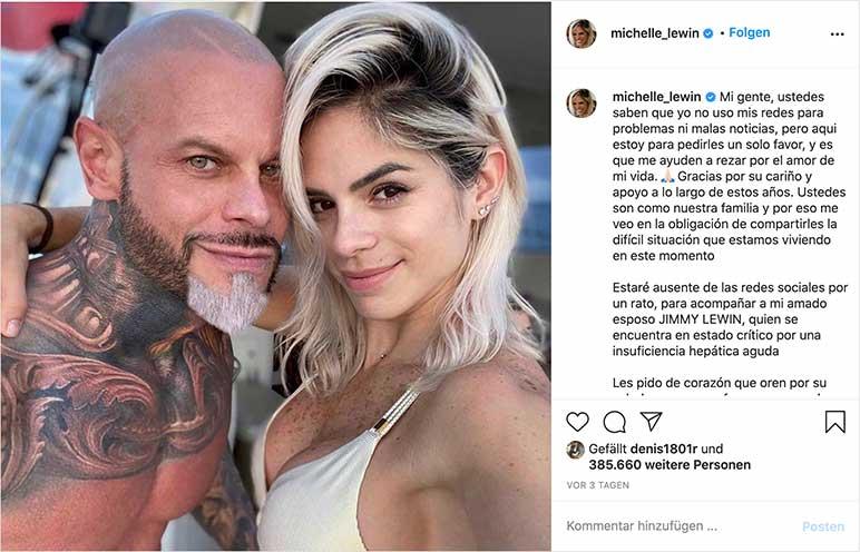 Instagram: Michelle Lewin klärt auf