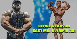 Titelbild: Darum will Keone Pearson nicht am Mr. Olympia 2020 teilnehmen