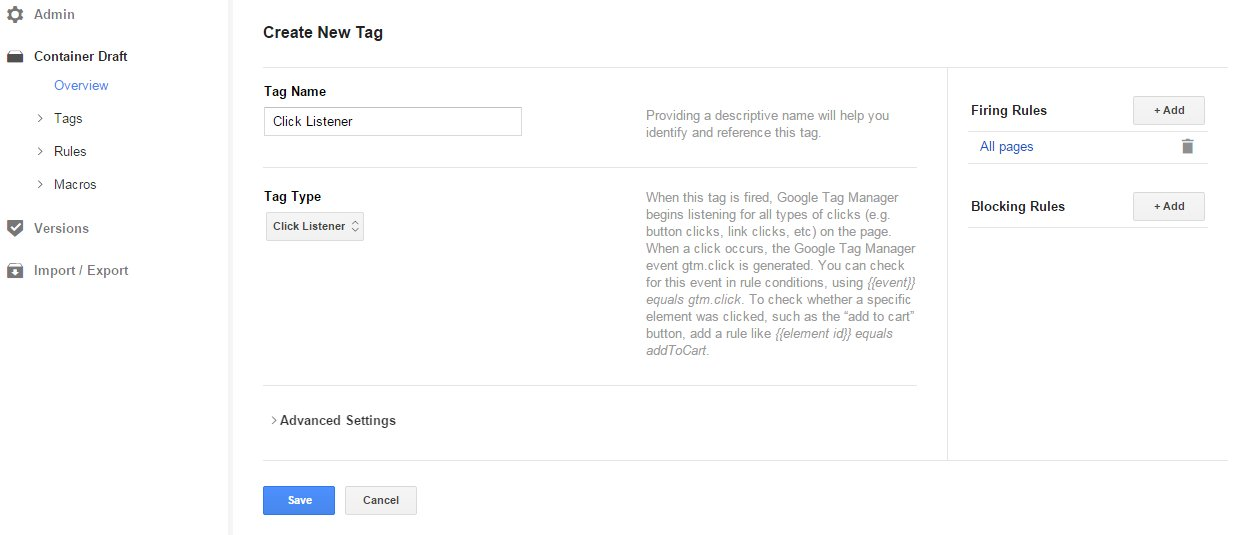 Track Add to Cart events in Google Analytics with Google