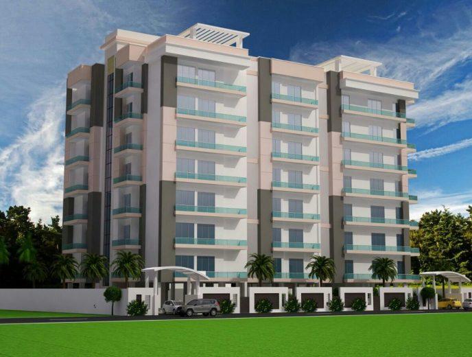 Siddhi Vinayak premium apartments front view