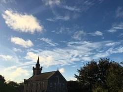 church-sky