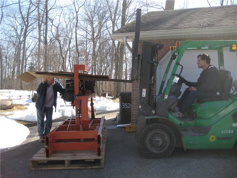 Sawmill Setup