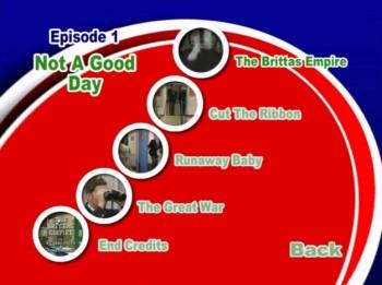 Brittas Series 4 DVD - chapter selection menu