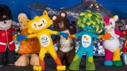 Rio 2016 Gipfeltreffen der Maskottchen