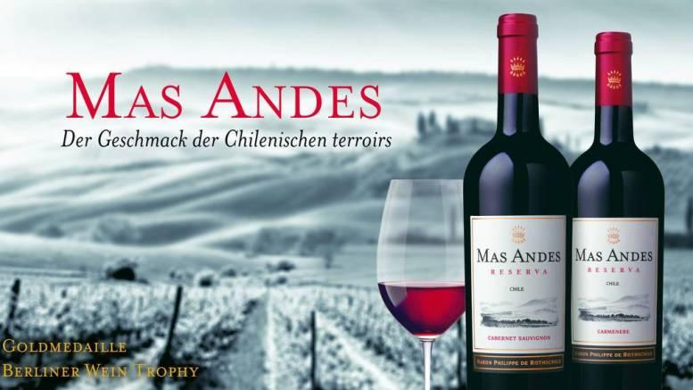 Mas Andes Reserva Goldmedaille Berlin