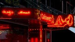 Erotik Nightclub Neonwerbung
