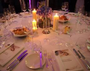 Der eingedeckte Tisch