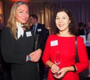 Anette Højland (Illums Bolighus) mit Prof. Dr. Olga Burkova (HAW) vl Foto: ganz-hamburg.de