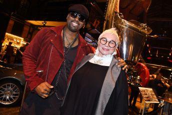 Darryl Smith und Brigitte Sely