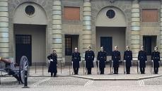 Wachwechsel Königspalast