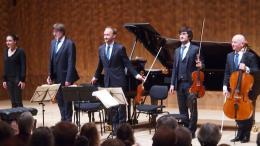 Olga Sheps in der Elbphilharmonie
