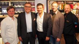 Gruppenbild zum Zwiesel living Store Opening Hanseviertel