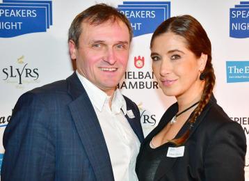 Speakers Night im Radisson Blu Hotel