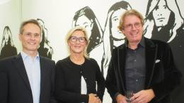 Vernissage - Black & White von Alex Katz