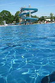 baden gehen - Michaelibad Freibad am Ostpark in Mnchen ...
