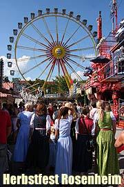 Herbstfest Rosenheim 2008 vom 300814092008 Das Rosenheimer Herbstfest  die Wiesn ist erffnet
