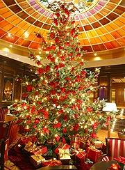 Adventszeit und Weihnachten 2005 kulinarisch im Hotel Vier Jahreszeiten Kempinski Mnchen