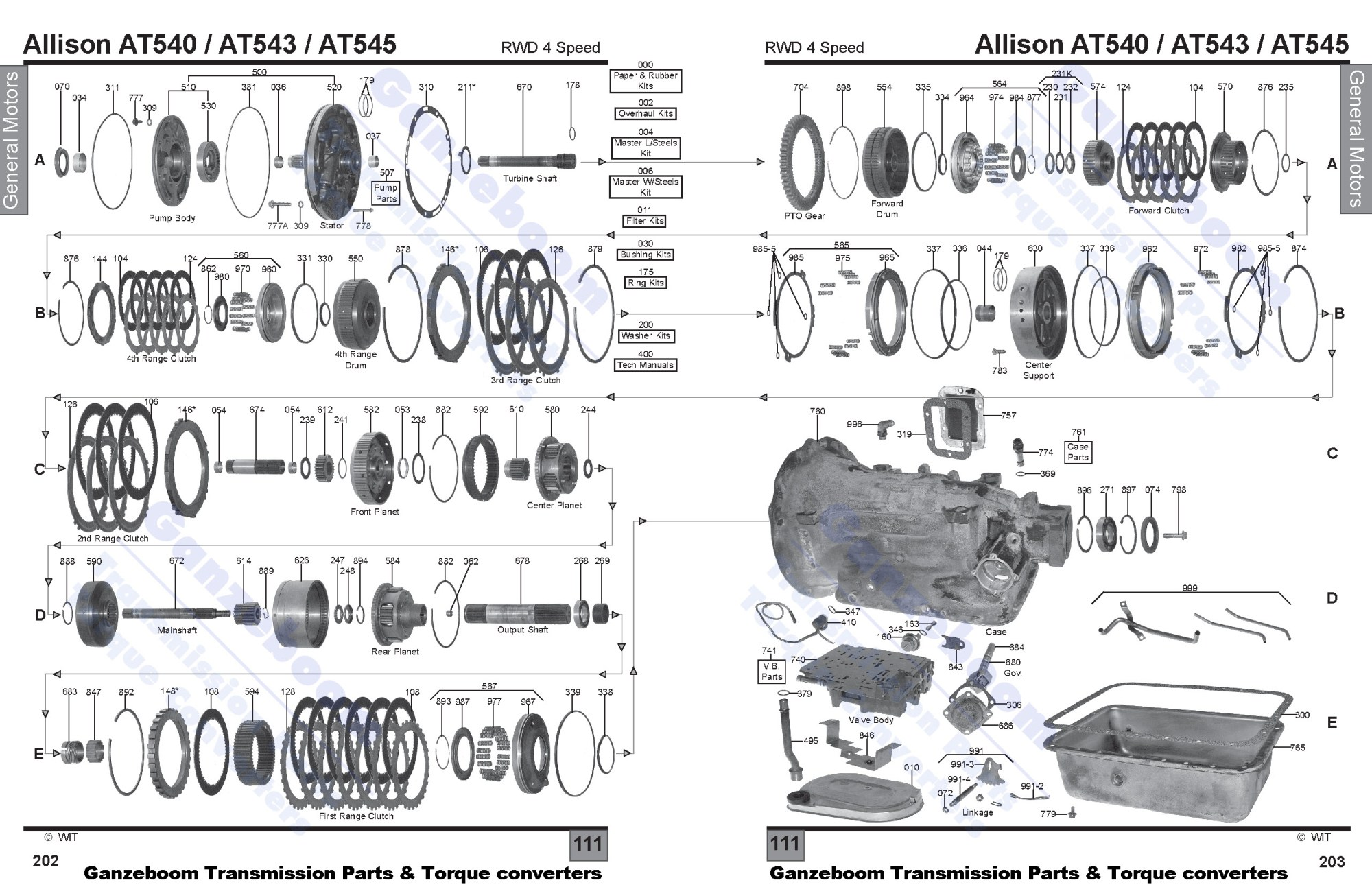 hight resolution of general motors ganzeboom allison transmission at545 repair manual allison at545 diagram