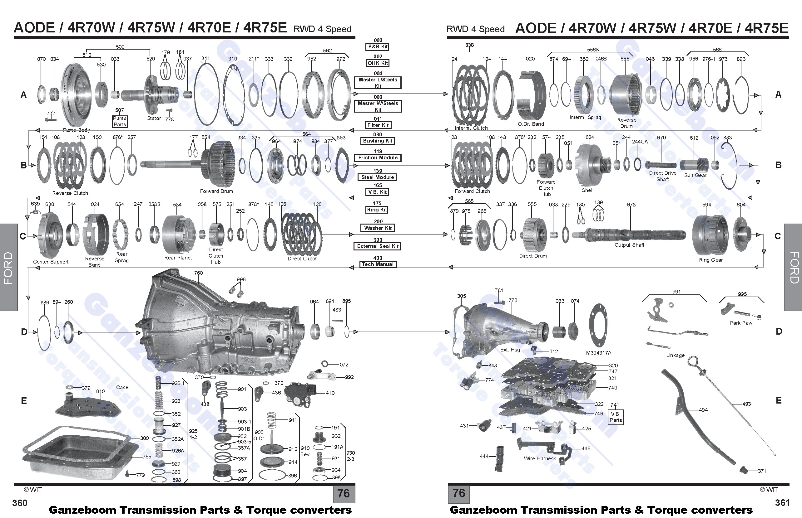 4r75e Transmission Parts Engine Wiring Diagram Images