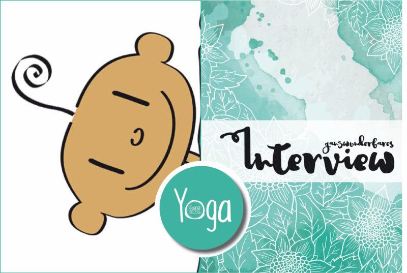 Portrait von der kleine Yogi