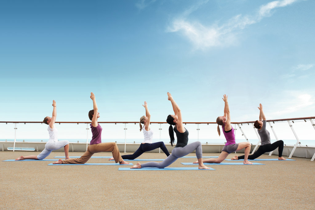 Yoga Urlaub auf dem Schiff - TUI Cruises mein Schiff