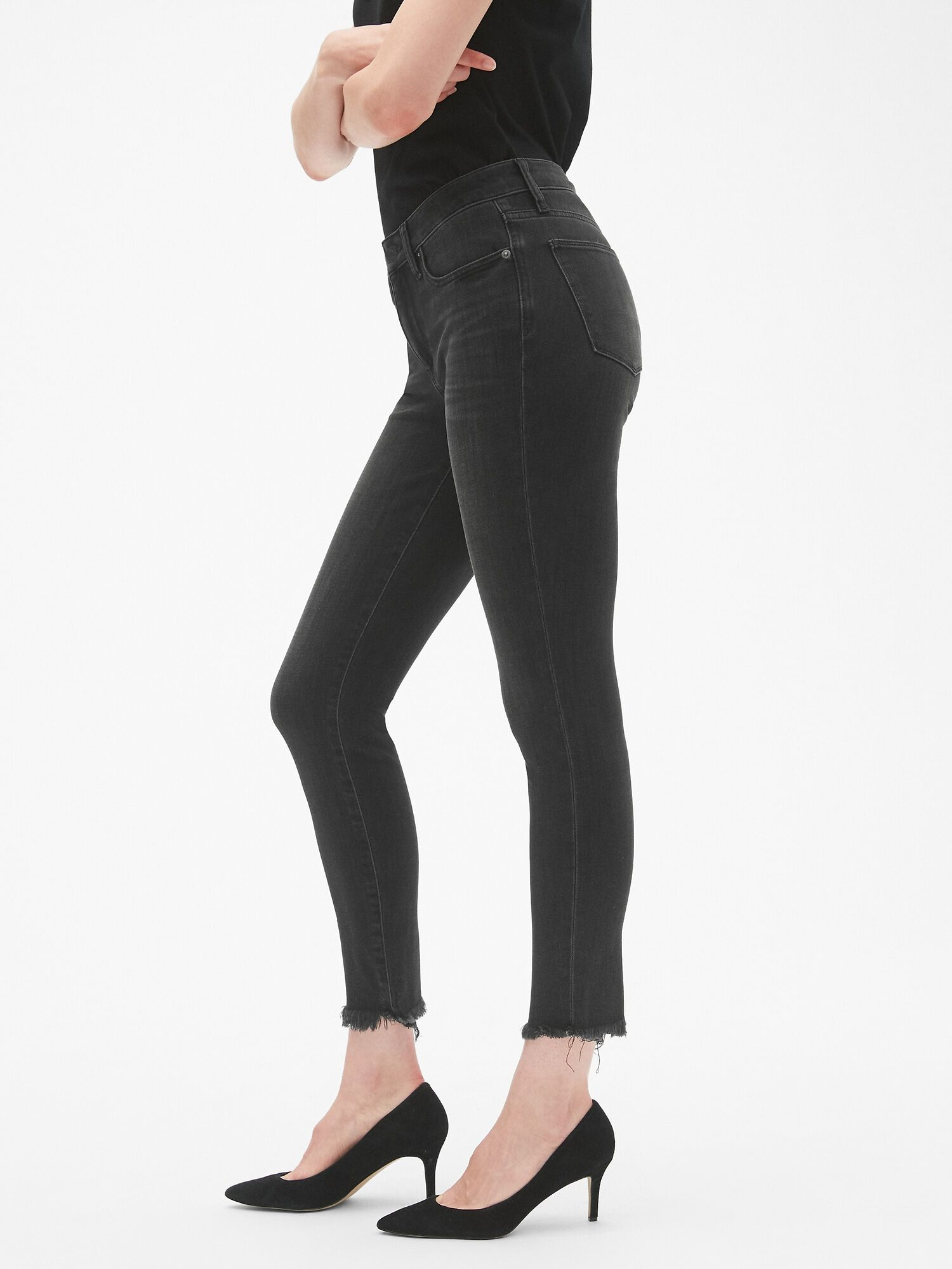 Mid rise curvy true skinny ankle jeans in stretch also gap uk rh