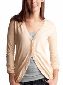 Women: Boyfriend cardigan - cream