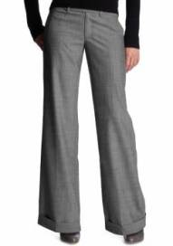 Women: The perfect tab-waist trouser - gray
