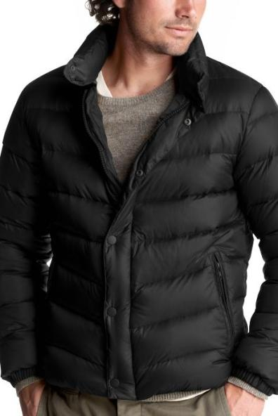 Gap Down Puffer Tall Coat